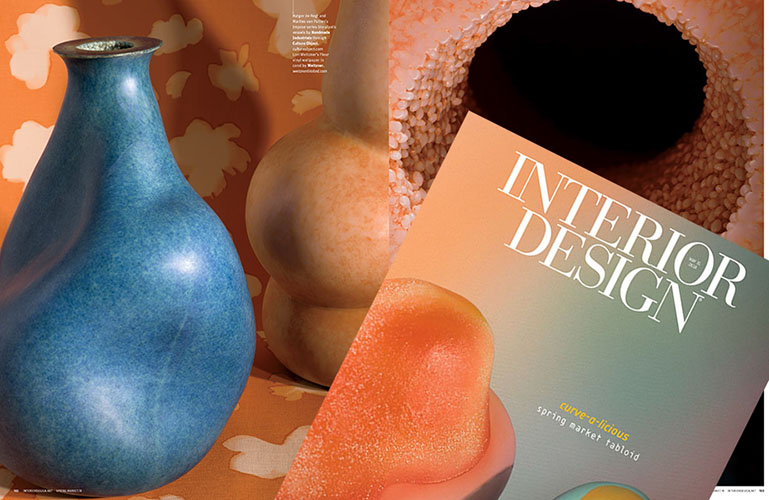 Interior Design Magazine Spring Market Tabloid 2018